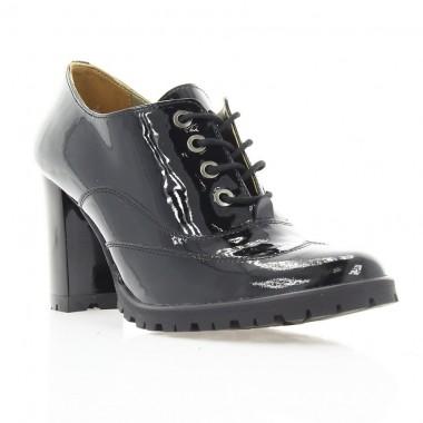 Купити Ботильйони жіночі чорні, лакована шкіра (2786 чн. Лк) Roma style за найкращими цінами