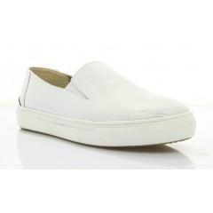 Туфли женские белые, кожа (2789 біл. Шк) Roma style