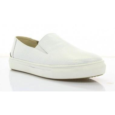 Купити Туфлі жіночі білі, шкіра (2789 біл. Шк) Roma style за найкращими цінами