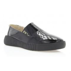 Туфли женские черные, лакированная кожа (2789 чн. Лк)) Roma style