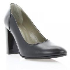 Туфли женские черные, кожа (2792/17 чн. Шк) Roma style