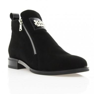 Купити Черевики жіночі чорні, велюр (2817-17 чн. Вл (байка)) Roma style за найкращими цінами
