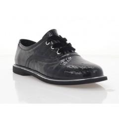 Туфлі жіночі чорні, лакована шкіра (2876-20 чн. Лк) Roma style