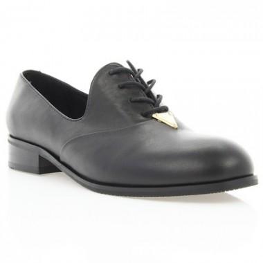 Купить Туфли женские черные, кожа (2880/1 чн. Шк) Roma style  по лучшим ценам