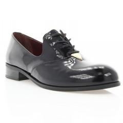 Туфли женские черные, лакированная кожа (2880 чн. Лк) Roma style