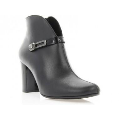 Купить Ботильоны женские черные, кожа (2901 чн. Шк) Roma style по лучшим ценам