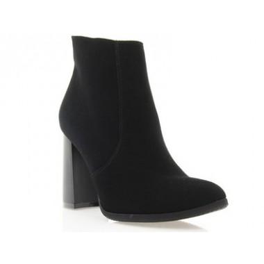 Купити Ботильйони жіночі чорні, велюр (2932 чн. Вл) Roma style за найкращими цінами