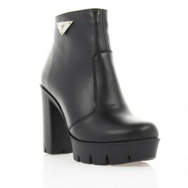 Купити Черевики жіночі чорні, шкіра (2945 чн. Шк (байка)) Roma style за найкращими цінами