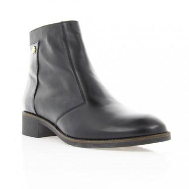 Купити Черевики жіночі чорні, шкіра (2948 чн. Шк+Лк (байка)) Roma style за найкращими цінами