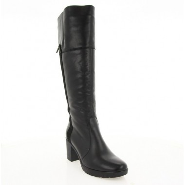 Купити Чоботи жіночі чорні, шкіра (2958 чн. Шк (шерсть)) Roma style за найкращими цінами