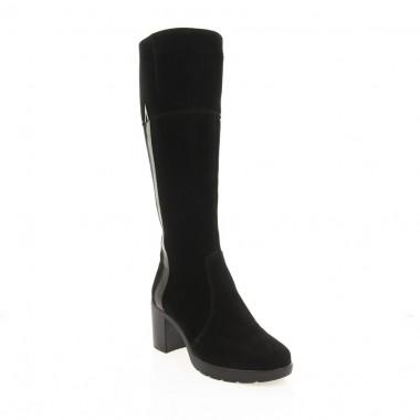 Купити Чоботи жіночі чорні, велюр (2958 чн. Вл (шерсть)) Roma style за найкращими цінами
