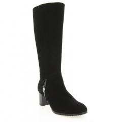 Чоботи жіночі чорні, велюр (2960 чн. Вл (євро)) Roma style
