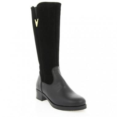 Купити Чоботи жіночі чорні, шкіра/замш (2981 чн. Зш+Шк (шер)) Roma style за найкращими цінами