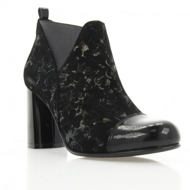 Купить Ботильоны женские черные, замша (2994 чн. Зш (байка)) Roma style по лучшим ценам