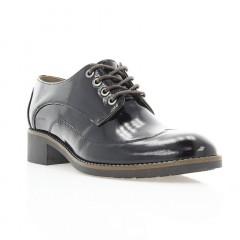 Туфли женские черные, лакированная кожа (3001 чн. Лк) Roma style