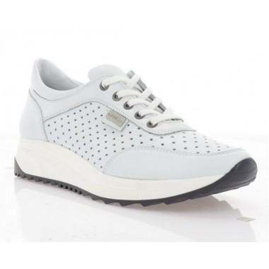 Купити Кросівки жіночі білі, шкіра (3004-19 біл. Шк) Roma style за найкращими цінами