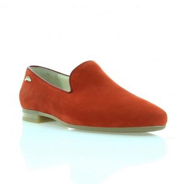Купити Балетки жіночі червоні, нубук (3005 черв. Нб) Roma style за найкращими цінами