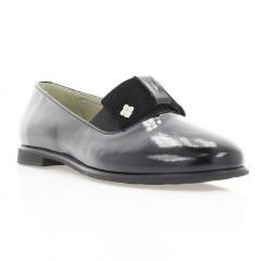 Туфли женские черные, лакированная кожа (3006 чн. Лк) Roma style