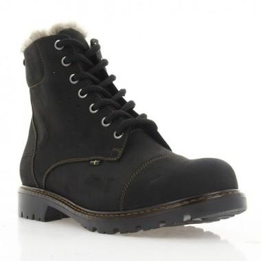 Купить Ботинки женские черные, нубук (3053 чн. Нб (шерсть)) Roma style по лучшим ценам