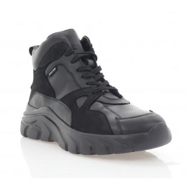 Купити Кросівки жіночі чорні, шкіра (3072-20 чн. Шк (байка)) Roma style за найкращими цінами