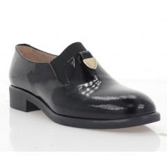 Туфли женские черные, лакированная кожа (3103 чн. Лк) Roma style