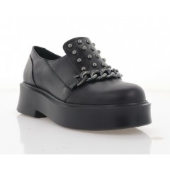 Туфлі жіночі чорні,  шкіра (3117-21 чн. Шк) Roma style