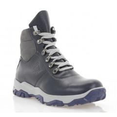 Ботинки подростковые синие, кожа (3207П сн. Фл (шер)) Roma style