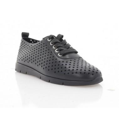 Купить Туфли женские черные, кожа (3248 чн. Шк) Roma style по лучшим ценам