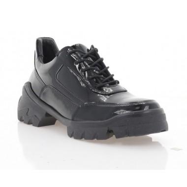 Туфлі жіночі чорні, лакована шкіра (3253 чн. Лк) Roma style