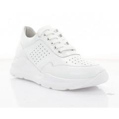 Кросівки жіночі білі, шкіра (3258 біл. Шк) Roma style