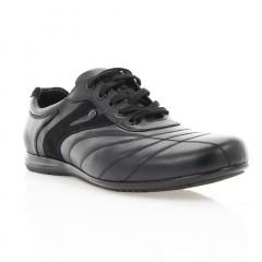 Кросівки чоловічі чорні, шкіра (365 чн. Шк) Roma style