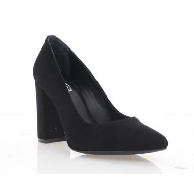 Туфлі жіночі чорні, велюр (2917 чн. Вл) Roma style