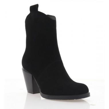 Купить Ботинки женские черные, замша (4065 чн. Зш (байка)) Roma style по лучшим ценам