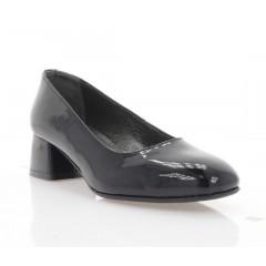 Туфли женские черные, лакированная кожа (4066 чн. Лк) Roma style
