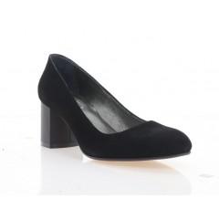 Туфлі жіночі чорні, велюр (4084 чн. Вл) Roma style