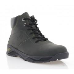 Ботинки мужские хаки, кожа (5015 хакі Шк (шерсть)) Roma style