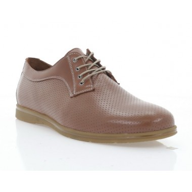 Купить Туфли мужские рыжие, кожа (5037 рж. Шк) Roma style по лучшим ценам