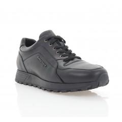 Кросівки чоловічі, чорні, шкіра (5038-20 чн. Шк) Roma style