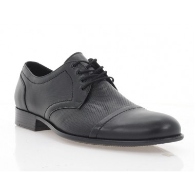Туфлі чоловічі чорні, шкіра (5047 чн. Шк-перф.) Roma style