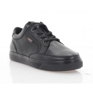 Купити Кеди підліткові чорні, шкіра (5048 П чн. Шк) Roma style за найкращими цінами