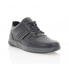 Кросівки чоловічі чорні, шкіра (5049-20/1 чн. Шк) Roma style