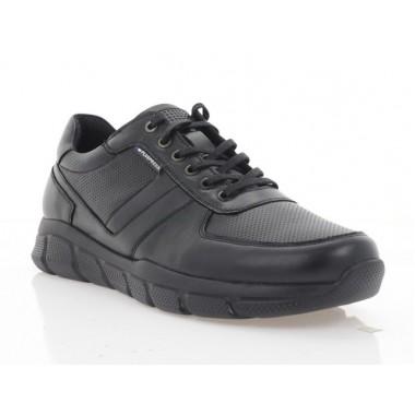 Купити Кросівки чоловічі чорні, шкіра (5056 чн. Шк) Roma style за найкращими цінами