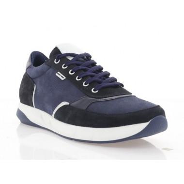 Купити Кросівки чоловічі сині, нубук/замш (5061 сн. Нб) Roma style за найкращими цінами
