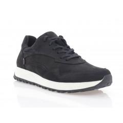 Кросівки чоловічі чорні, нубук (5076 чн. Нб) Roma style