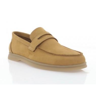 Туфлі чоловічі рижі, нубук (5081/1 рж. Нб) Roma style