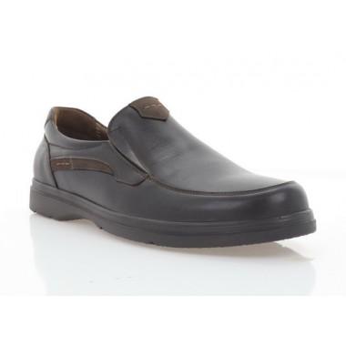 Туфли мужские коричневые, кожа (5083 кор. Шк) Roma style