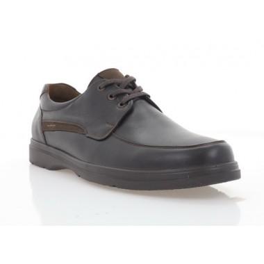 Туфлі чоловічі коричневі, шкіра (5084 кор. Шк) Roma style