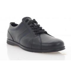 Туфли мужские черные, кожа (900-20 чн. Шк) Roma style